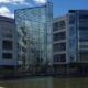 Aremo fasadtvättade kontorsbyggnad i Frösundavik
