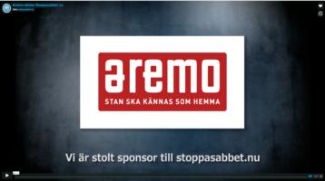 Aremo stödjer Stoppasabbet.nu