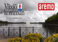 Växjö kommun gav förtroendet till Aremo för att ta bort klotter